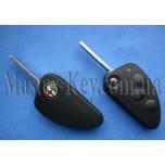 ALFA ROMEO выкидной ключ (корпус), 3  кнопки