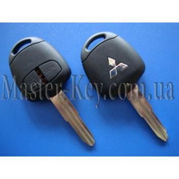 MITSUBISHI Pajero ключ (корпус), 2 кнопки