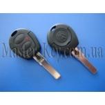 VOLKSWAGEN GOLF ключ (корпус), 2 кнопки