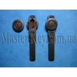 VOLKSWAGEN Smart Key (лезвие), пластик HU66